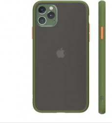Husa de protectie Bibilel pentru iPhone 11 Pro protectie spate bumper capac de protectie Verde Deschis BBL1591 Huse Telefoane