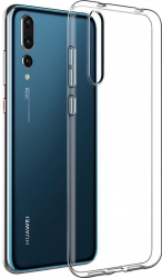 Husa Tpu Protectie Silicon Antisoc Huawei P20 Pro Transparent Huse Telefoane