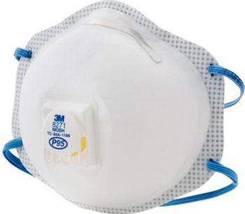 Masca de protectie respiratorie importriva particulelor 3M 8576 P95 Masti chirurgicale si reutilizabile