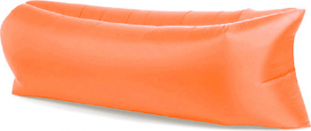 Saltea Gonflabila Lazy Bag XXL pentru Plaja sau Piscina Umflare fara Pompa cu Geanta Depozitare culoare Orange