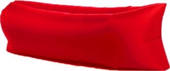 Saltea Gonflabila Lazy Bag XXL pentru Plaja sau Piscina Umflare fara Pompa cu Geanta Depozitare culoare Rosu