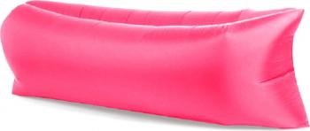 Saltea Gonflabila Lazy Bag XXL pentru Plaja sau Piscina Umflare fara Pompa cu Geanta Depozitare culoare Roz