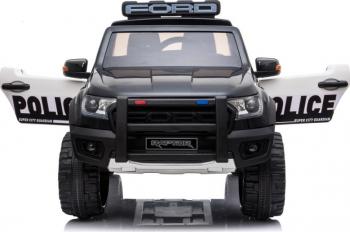 Masinuta electrica cu telecomanda Ford Raptor Police Edition Masinute si vehicule pentru copii