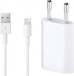 Set Incarcator Apple Original pentru iPhone 55s66s6+6s+77+88+XXsXs MaxXR cu cablu Apple lightning - Bulk Accesorii Diverse Telefoane