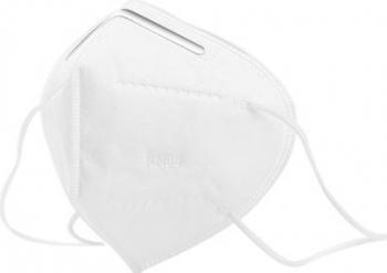 Masca protectie clasa KN95 FFP2 4 straturi FPP2 set 10 buc Masti chirurgicale si reutilizabile