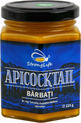 ApiCocktail BARBATI - mix apicol pentru imunitate din miere polen propolis by Dr. Ing. Cornelia Dostetan Abalaru apicultor - 225g