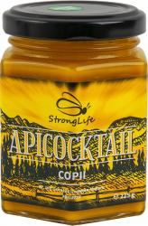 ApiCocktail COPII - mix apicol pentru imunitate din miere polen propolis by Dr. Ing. Cornelia Dostetan Abalaru apicultor - 225g