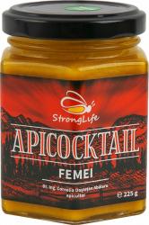 ApiCocktail FEMEI - mix apicol pentru imunitate din miere propolis laptisor de matca by Dr. Ing. Cornelia Dostetan Abalaru apicultor - 225g