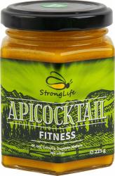 ApiCocktail FITNESS - mix apicol pentru performante fizice si mentale by Dr. Ing. Cornelia Dostetan Abalaru apicultor - 225g