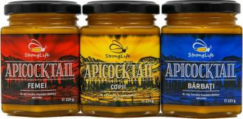 Pachet ApiCocktail - mix-uri apicole pentru cresterea imunitatii intregii familii by Dr. Ing. Cornelia Dostetan Abalaru apicultor - 675g