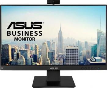 Monitor LED 23.8 ASUS BE24EQK Business Full HD Webcam IPS 60Hz Negru Monitoare LCD LED