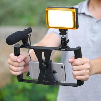 Set profesional pentru filmari cu telefonul Gimbal, Selfie Stick si lentile telefon