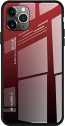 Husa de protectie Bibilel Gradient pentru iPhone 11 Pro Max protectie spate bumper capac de protectie Rosu Negru BBL1443 Huse Telefoane