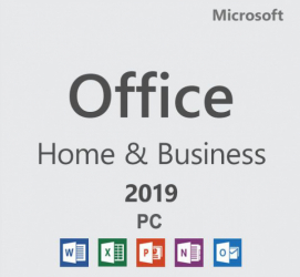 Microsoft Office 2019 Home and Business 32/64 bit Retail Licenta electronica - Activare online Aplicatii desktop