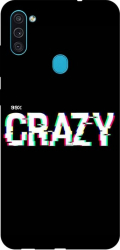 Husa Silicon Soft Upzz Print Samsung Galaxy M11 Crazy