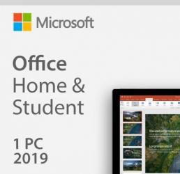 MICROSOFT OFFICE 2019 HOME AND STUDENT 32/64 BIT TOATE LIMBILE LICENTA ELECTRONICA PENTRU PC Aplicatii desktop