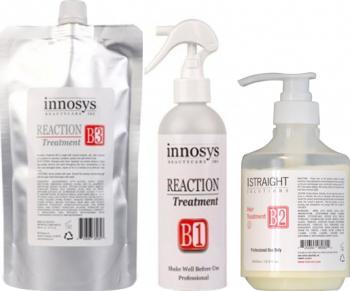 Kit Tratament Reparare Si Reconditionare Set 3 produse Reaction Masti, exfoliant, tonice