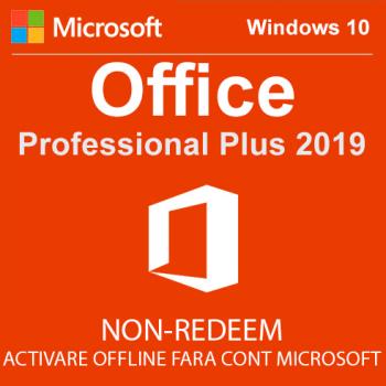 MICROSOFT OFFICE 2019 PROFESSIONAL PLUS 32/64 BIT TOATE LIMBILE LICENTA ELECTRONICA - NON-REDEEM Aplicatii desktop