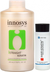 Tratament de indreptare cu Cisteina 473ml + Cadou Sampon Clarifiant Innosys Masti, exfoliant, tonice