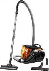 Aspirator fara sac Rowenta Compact Power 3A RO3753 1.5 l 750 W Filtru de inalta eficienta 8.8 m Negru/Orange Aspiratoare