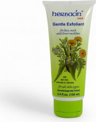 Crema exfolianta faciala Herbacin 100 ml Masti, exfoliant, tonice