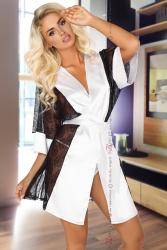 Halat Stephanie Beauty Night Alb S/M Halate dama