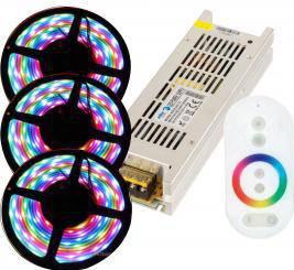 KIT BANDA LED RGB INTERIOR 15M Corpuri de iluminat