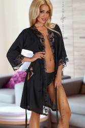 Halat Ambrosia Beauty Night Negru L/XL Halate dama