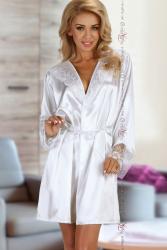 Halat Fabienne Beauty Night Alb L/XL Halate dama