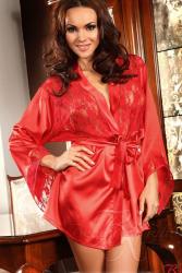 Halat Prilance Beauty Night Rosu S/L Halate dama