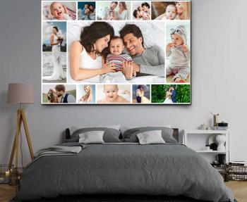 Tablou canvas personalizat cu 13 poze Cadouri