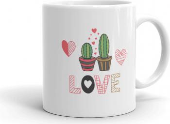 Cana personalizata Cactus Love
