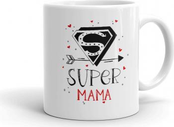Cana personalizata Super Mama