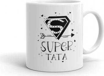 Cana personalizata Super Tata