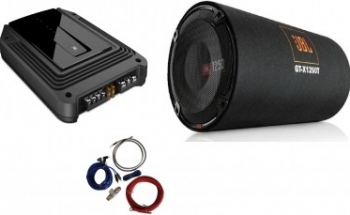 Pachet tub JBL GT-X1250T + GX-A3001 + 350940 Accesorii Navigatie GPS