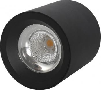 Spot LED aplicat LED Market M1810B Putere 12W 4000K lumina neutra Corp Negru 50 000H Corpuri de iluminat