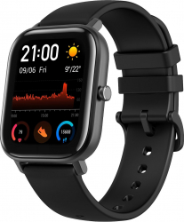 Ceas smartwatch Amazfit GTS Obsidian Black Smartwatch