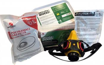 Masca Secura2000 CHEM + 2 seturi filtre Articole protectia muncii