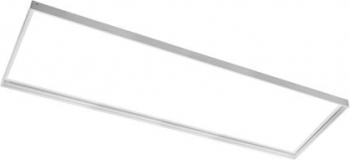 Cadru de montaj exterior pentru panou Led 120x30 cm cromat Corpuri de iluminat