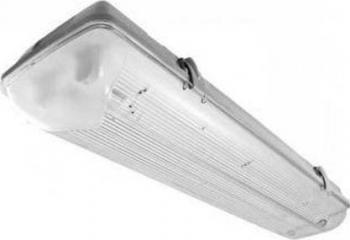 Corp Karina pentru Tub LED 2xLED T8 2X18W 1200MM IP65 PC/PC Lig Corpuri de iluminat