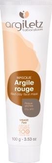 Masca naturala din argila rosie ready-to-use pt ten uscat/fara stralucire Argiletz 100g
