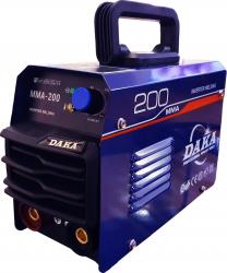 Aparat de Sudura Tip Invertor Daka MMA-200 200Ah MMA electrod 1.6-3.2mm masca inclusa Standard Standard Aparate de sudura