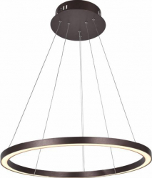 Lustra Pendul Rotund ACRILYC 50W 4000K 9608 COFFEE 800mm Corpuri de iluminat