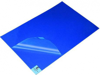 Covorase dezinfectante cu efect antibacterian albastru 60 x 90 cm