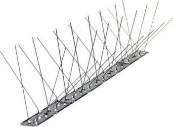 Banda cu tepi anti pasari din inox 50cm Articole antidaunatori gradina