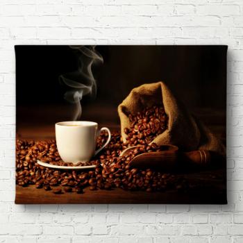 Tablou canvas Ceasca de cafea 60x90 cm Tablouri