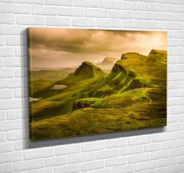 Tablou canvas Dealuri inverzite 40x60 cm Tablouri