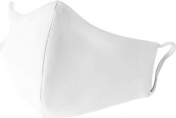 Set 5 Masti de Protectie din Bumbac Reutilizabile 2 straturi Alb Magic Mirror Fashion and reg Masti chirurgicale si reutilizabile