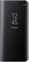 Husa Xiaomi Redmi Note 9S / Note 9 Pro Clear View Black Huse Telefoane
