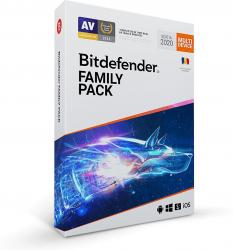 Bitdefender Family Pack 15 Devices / 3 Years Antivirus
